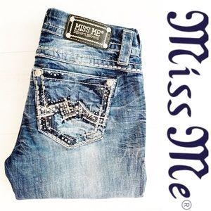 Miss Me Easy Boot Cut Jeans sz 27x30